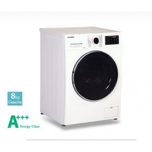 ماشین لباسشویی هیوندای مدل HWM-8014W رنگ سفید