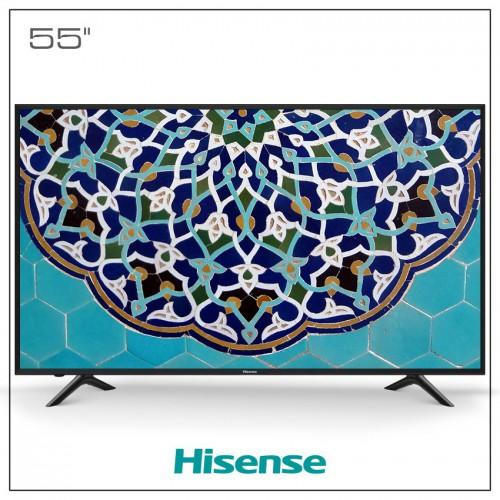 تلویزیون ال ای دی هایسنس مدل 55N3000UW Ultra HD - 4K